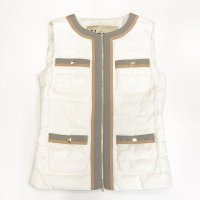 HERNO 【ヘルノ】 『Bon Ton Jacket』HERNO IN TECH採用 ベスト (White)