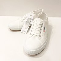 SUPERGA 【スペルガ】 『2750 PLUS COTU』 インヒールソール・スニーカー (White)<img class='new_mark_img2' src='https://img.shop-pro.jp/img/new/icons56.gif' style='border:none;display:inline;margin:0px;padding:0px;width:auto;' />