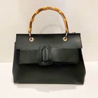 andrea cardone 【アンドレア・カルドネ】 Leather Bag Bamboo (Black)<img class='new_mark_img2' src='https://img.shop-pro.jp/img/new/icons41.gif' style='border:none;display:inline;margin:0px;padding:0px;width:auto;' />