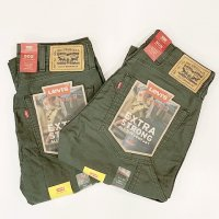 Levi's 【リーバイス】 『WORKWEAR 505 UTILITY』 EXTRA STRONG ペインター (Gray Olive Canvas)