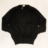 William Lockie 【ウイリアム・ロッキー】 『8277』Pure Real Cotton ラウンドネックニットプルオーバー (Black)<img class='new_mark_img2' src='https://img.shop-pro.jp/img/new/icons41.gif' style='border:none;display:inline;margin:0px;padding:0px;width:auto;' />