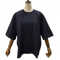 kowtow【コウトウ】『Oversized Boxy Tee』 ハーフスリーブ・クルーネックボックスTシャツ (Navy)<img class='new_mark_img2' src='https://img.shop-pro.jp/img/new/icons41.gif' style='border:none;display:inline;margin:0px;padding:0px;width:auto;' />