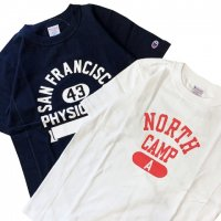 Champion 【チャンピオン】 アスレティックプリント・Reverse Weave T-Shirt ヘビーウェイトジャージーTEE (全2色)<img class='new_mark_img2' src='https://img.shop-pro.jp/img/new/icons41.gif' style='border:none;display:inline;margin:0px;padding:0px;width:auto;' />