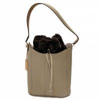 Felisi 【フェリージ】 3WAY HAND BAG 20/77-LD+EU03 ソフトキップレザー・3WAYバッグ (Tortora-Turtle Dove)