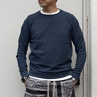 ZANONE 【ザノーネ】  マイクロコットンパイル・クルーネックニット・プルオーバー Regular Fit (Navy)<img class='new_mark_img2' src='https://img.shop-pro.jp/img/new/icons41.gif' style='border:none;display:inline;margin:0px;padding:0px;width:auto;' />
