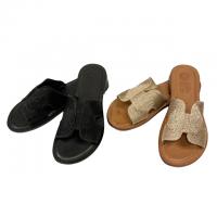 Eder shoes 【エダー・シューズ】 シャイニーロープストラップ・レザーサンダル (全2色)