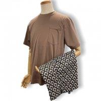 COLONY CLOTHING【コロニー・クロージング】 クルーネック・オーバーサイズフィットTEEシャツ (2色展開)