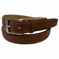 "BELTS Stefano Piazza 【ベルツ】 ""SUEDE"" 30�スウェードベルト (Brown)"
