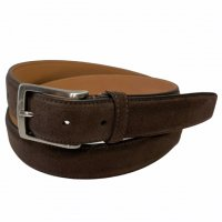 "BELTS Stefano Piazza 【ベルツ】 ""SUEDE"" 30�スウェードベルト (Dark Brown)"
