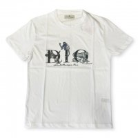 """AWESOME 【オーサム】 『This is Art not Fake』 """"DIO""""プリント・TEEシャツ(White-Stampa35)"""