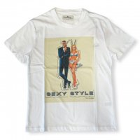 """AWESOME 【オーサム】 『This is Art not Fake』 """"SEXY STYLE""""プリント・TEEシャツ(White-Stampa28)"""