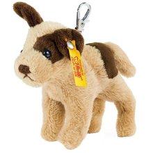 シュタイフ ソフトキーリング 犬 10cm EAN112362