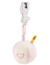 シュタイフ ラトルボール(ピンク) 9cm EAN205293