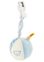 シュタイフ ラトルボール(ブルー) 9cm EAN205309