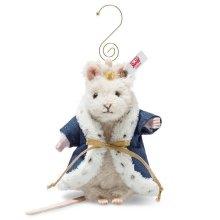 シュタイフ オーナメント マウス キング(ネズミの王様) 11cm EAN006883
