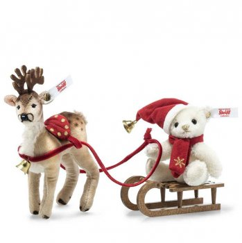 クリスマススレイ(ソリ)セット 10cm EAN006067【送料無料】