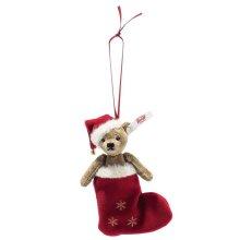 オーナメント クリスマステディベア 12cm、20cm EAN006043【送料無料】