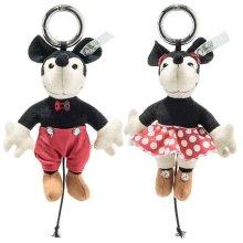 【即納商品】キーリング ミッキーマウス ミニーマウスセット 12cm EAN355646他【送料無料】