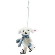 【ご予約作品】シュタイフ ウサギのアイススケーターオーナメント 11cm EAN007149【送料無料】