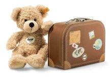 【即納商品】シュタイフ スーツケースのテディベア フィン 28cm EAN111471
