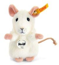 シュタイフ ホワイトマウスのピラ 10cm EAN056215