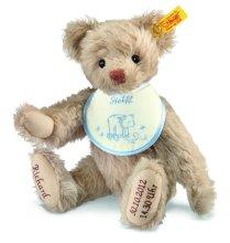 シュタイフ 世界に1体だけの出産祝い テディベア (男の子用) 27cm EAN001765【送料無料】