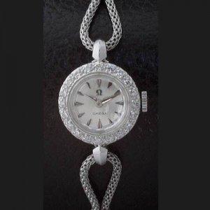 オメガ OMEGA  ダイヤ カクテルウォッチ レディースアンティーク時計