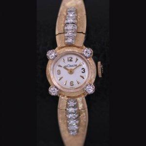 ジャガー・ルクルト ボックス付きの未使用時計 アンティーク