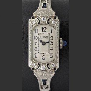 GRUEN グリュエン 1920年代 アールデコ時計 レディース