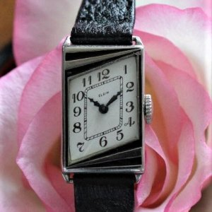 ELGIN エルジン アールデコの時計 パリジェンヌシリーズ