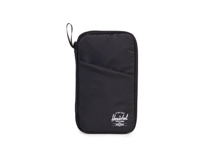 TRAVEL / TRAVEL WALLET - Black