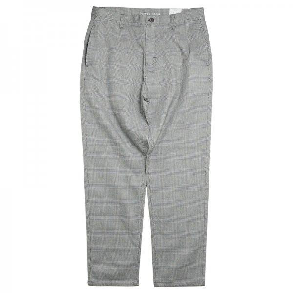 B.BOXY CHINO PANT - Grey Check