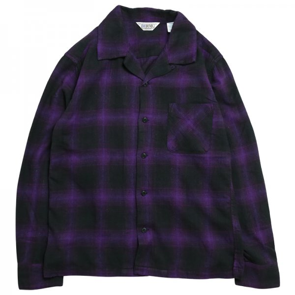 LIGHT NEL ONE UP SHIRT - Purple Ombre
