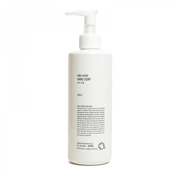 Cul de Sac-JAPON | HIBA WOOD HAND SOAP / 液体石鹸