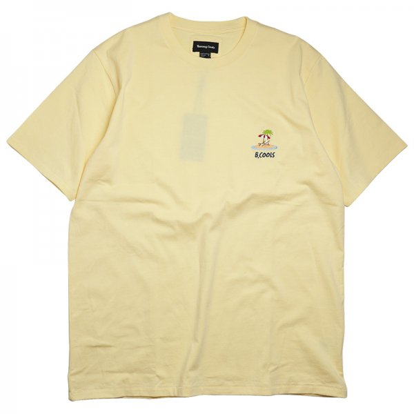 ISLAND EMBRO TEE - Lemon