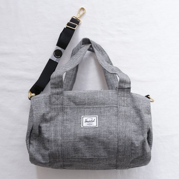 Sutton Duffle Mini - Raven Crosshatch