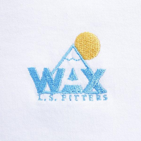 WAX LOGO S/S T-SHIRT - Otsuitachi Blue