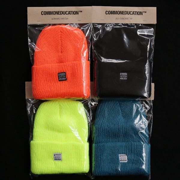 AUTHENTIC KINT CAP - Teal, N.Orange, S.Yellow, Black