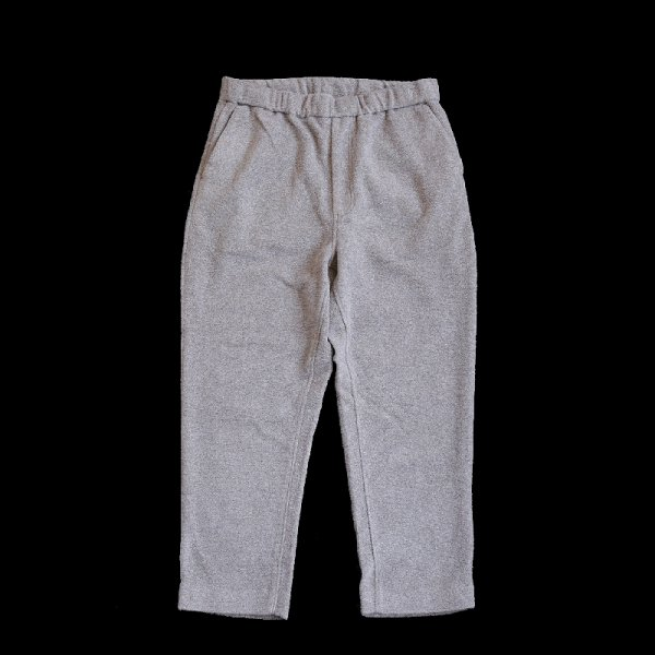 WOOL BOA PANTS - Beige