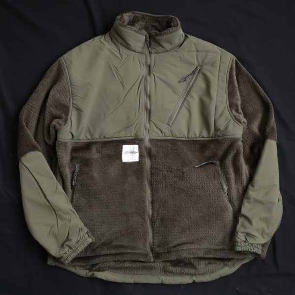 BURLAP OUTFITTER / COLD WEATHER FLEECE JACKET - Olive