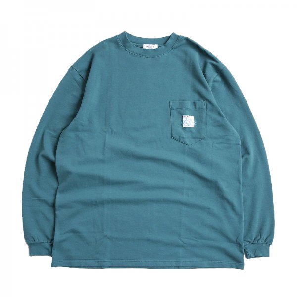 AsCIID HEAVY POCKET TEE - Emerald