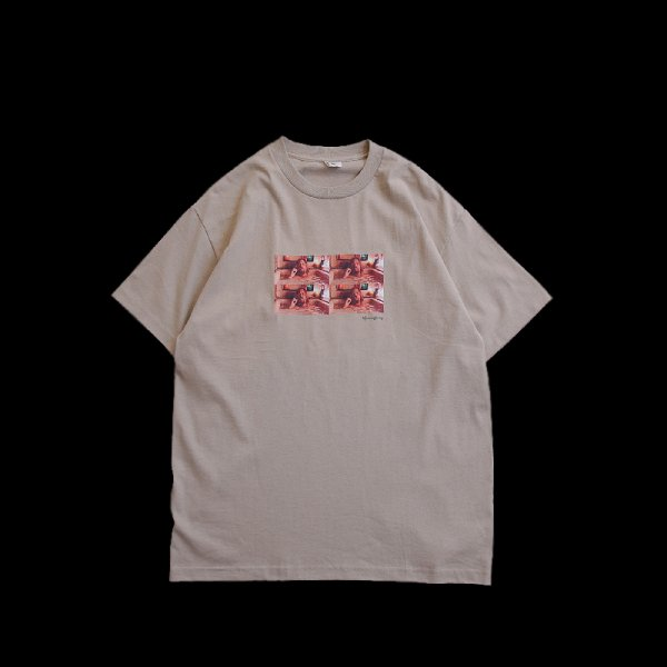 RELAXING TEE - Sand