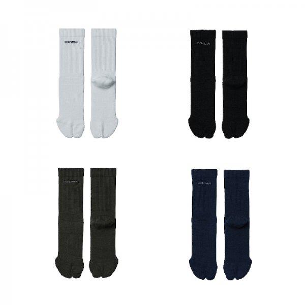 C-MX.2 COOLMAX® TABI SOCKS - White,Black,Navy,Asphalt