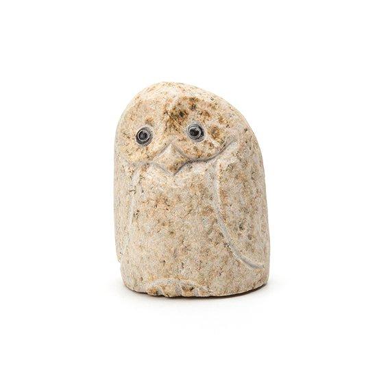 自然石フクロウ(1)