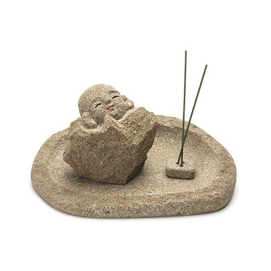 お地蔵さん(線香立て)/ Jizo Incense Burner