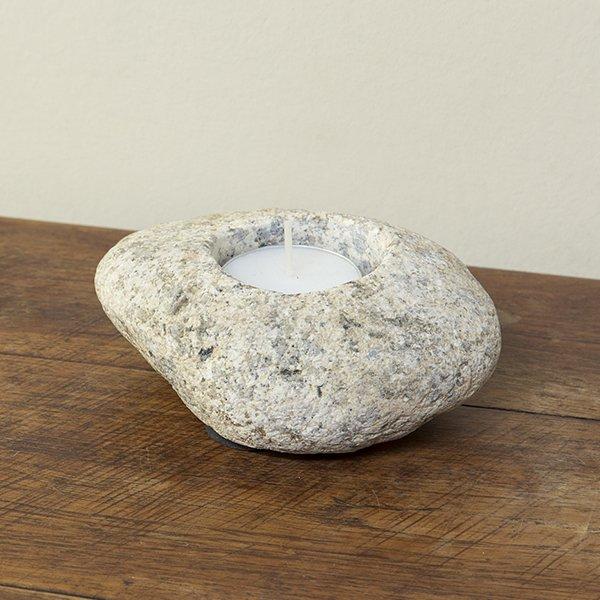 自然石キャンドルホルダー2