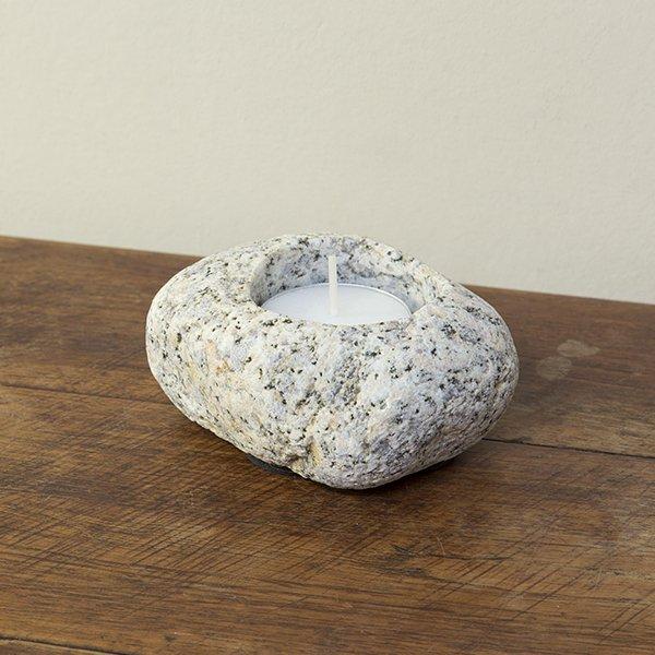自然石キャンドルホルダー4