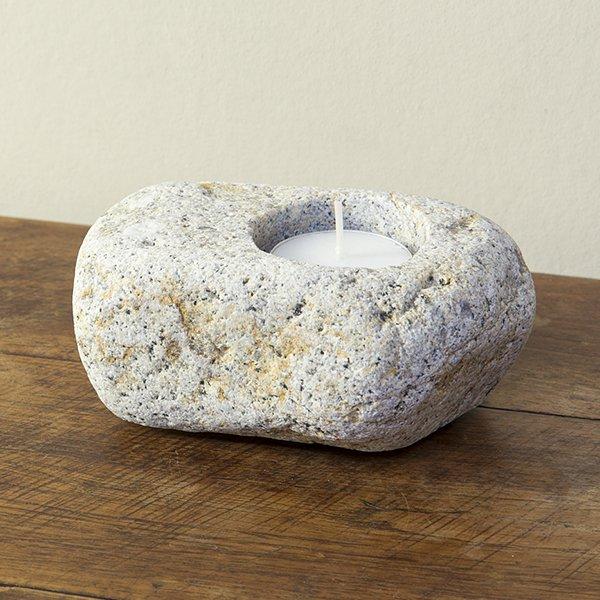 自然石キャンドルホルダー10