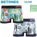 BETONES ビトーンズ /  メンズ ボクサーパンツ トランクス CLIVE アロハ柄 【メール便で送料無料】