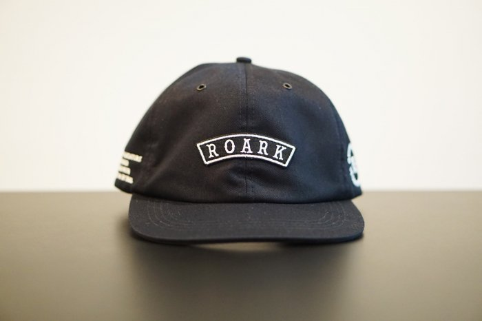 "ROARK (ロアーク) ""MEDIEVAL"" SHELTECH 6PANEL CAP NAVY"